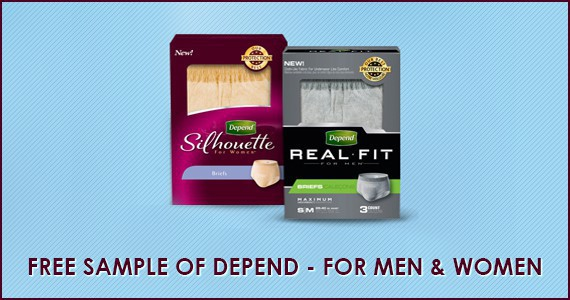 FREE Sample of Depend Underwear with FIT-FLEX Protection