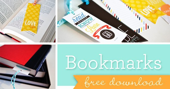 Free Bookmarks from Paper Coterie