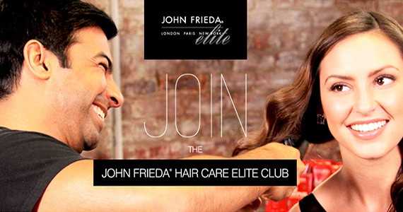Join the John Frieda Hair Care Elite Club