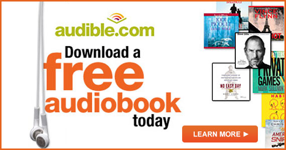 Get a Free Audiobook and 30-day Trial at Audible