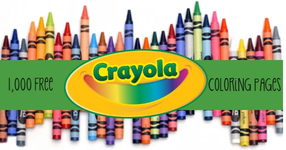 Over 1,000 Free Coloring Pages from Crayola