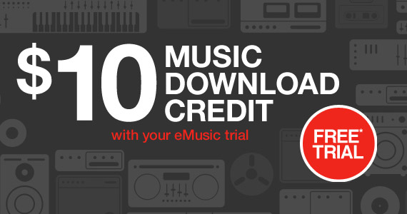 Get $10 Worth Of Free Music at eMusic