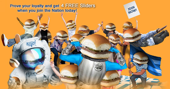 Get 4 Free Sliders At White Castle When You Join