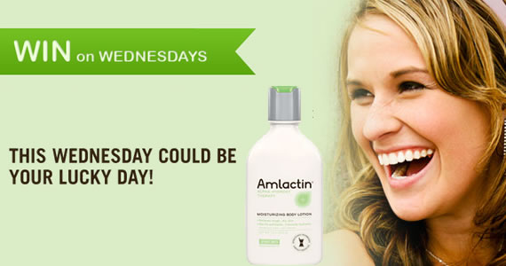 Win On Wednesdays with AmLactin