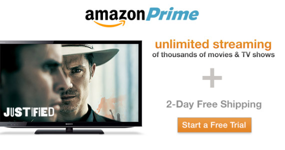Free Trial of Amazon Prime