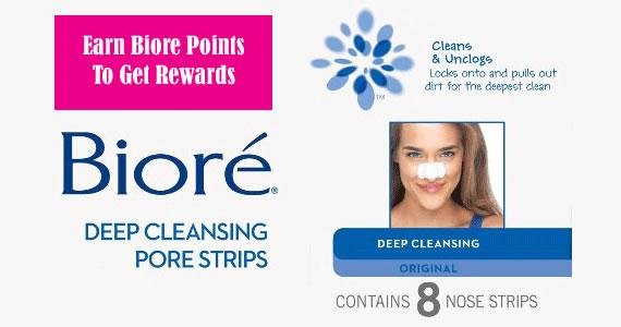 Earn Biore Points To Get Rewards