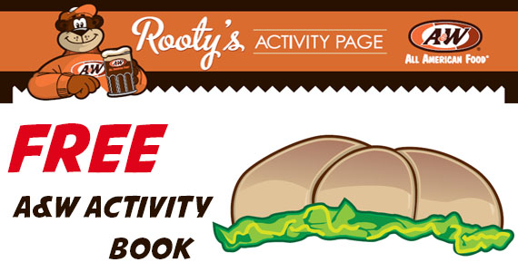 Free A&W Activity Book
