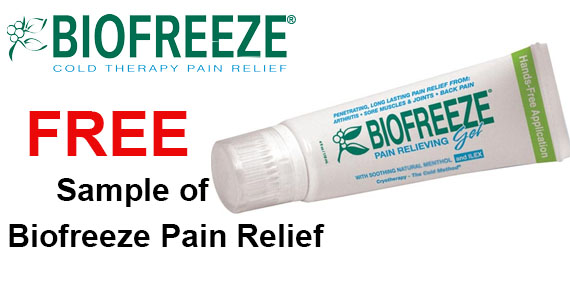 Free Sample of Biofreeze Pain Relief