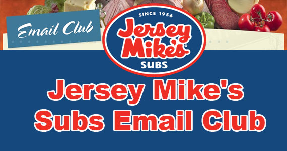 Join Jersey Mike's Subs Email Club