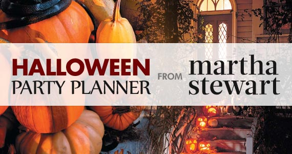 Halloween Party Planner From Martha Stewart