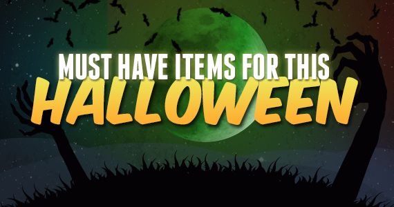 Must-Have Items For This Halloween