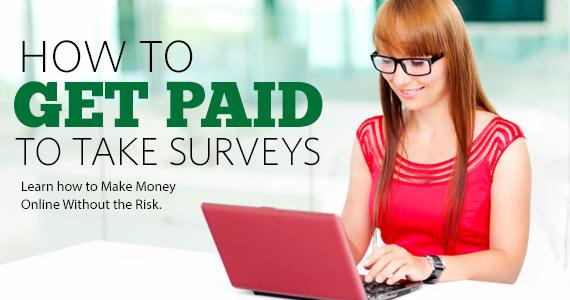 Get Paid To Take Surveys Online