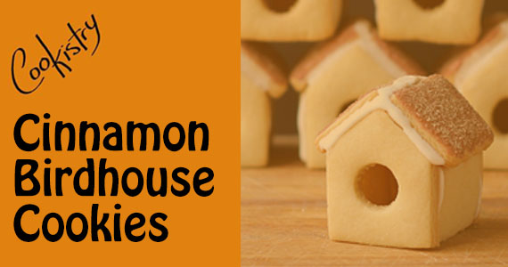 Cinnamon Birdhouse Cookie Recipe