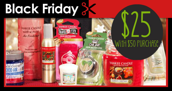 Sneak A Peek At Yankee Candle Black Friday Specials
