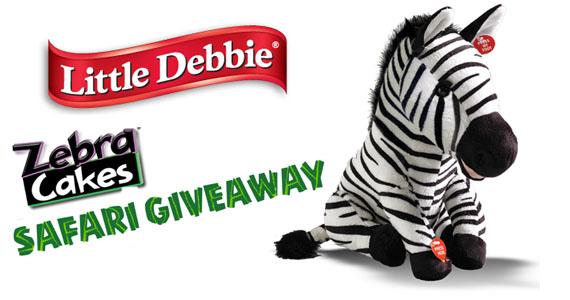 Zebra Cakes Safari Giveaway