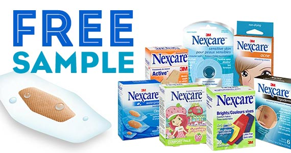 FREE Sample of Nexcare Waterproof Bandages