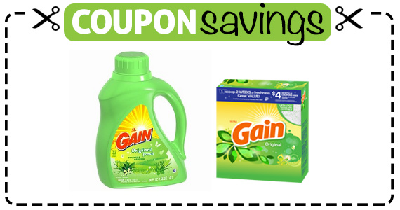 Save $2 on Gain Laundry Detergent