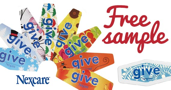 Free 'Give' Bandages from Nexcare