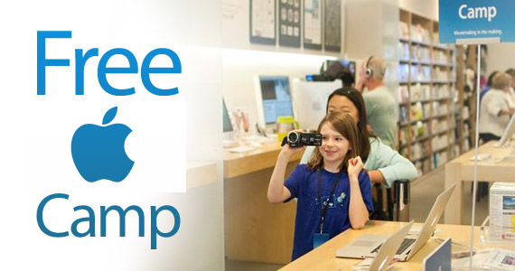 Free 3-Day Workshops For Kids At Apple