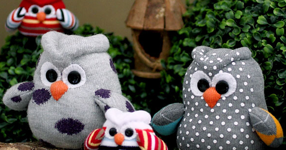 How To Sew A Sock Owl – Free Tutorial