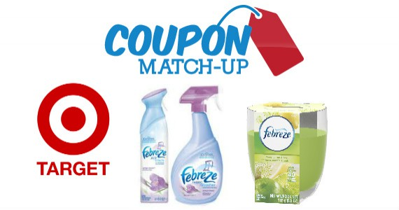 Save BIG on Febreze Products at Target