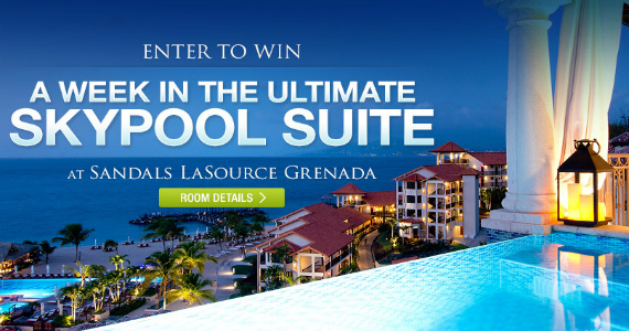 WIN A Week In The Ultimate Skypool Suite