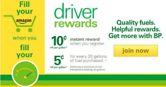 Save On Gas When You Become A BP Rewards Member