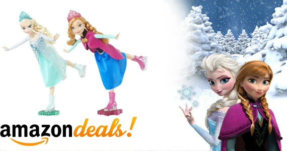 "Save Big: ""Frozen"" Ice Skating Anna & Elsa Dolls"