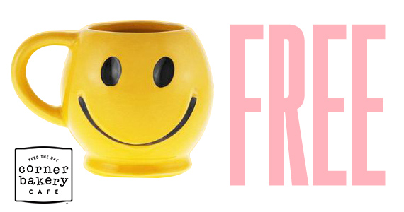 Free Mugs From Corner Bakery Cafe