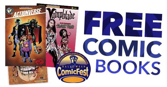 FREE Halloween ComicFest Comic