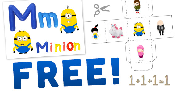 Free Despicable Me Printable Pack