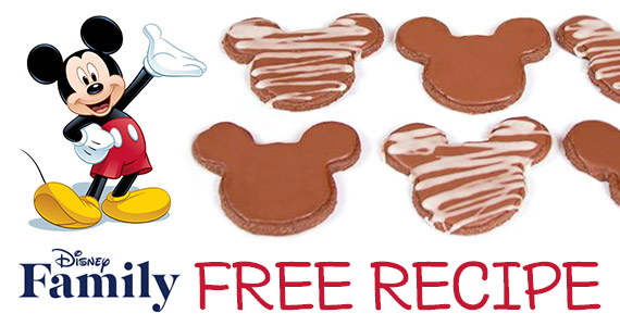 Mickey Mouse Chocolate Cookie Recipe