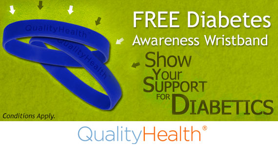 Get A Free Diabetes Awareness Bracelet