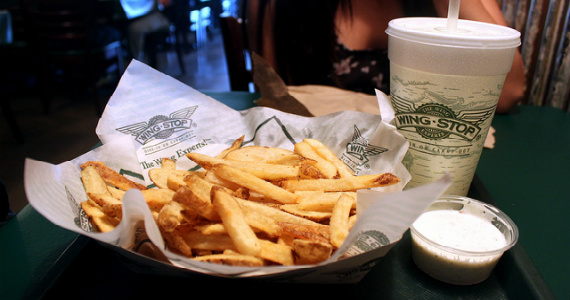 Free Large Fresh-Cut Seasoned Fries
