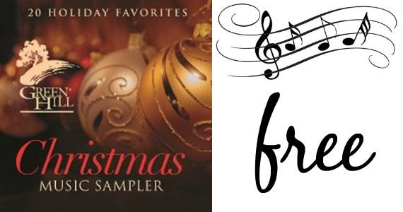 Free Christmas Music Sampler