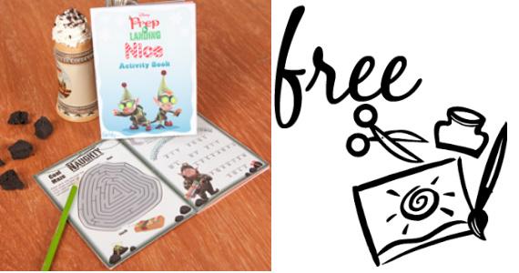 Free Naughty VS Nice Activity Book