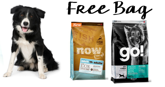 Get A Free 1/2lb Bag Of Pet Food