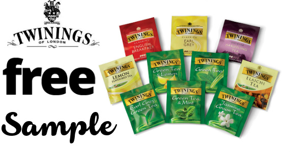 FREE Twinings Tea Samples...