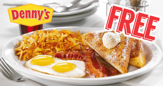 Free Birthday Grand Slam at Denny's