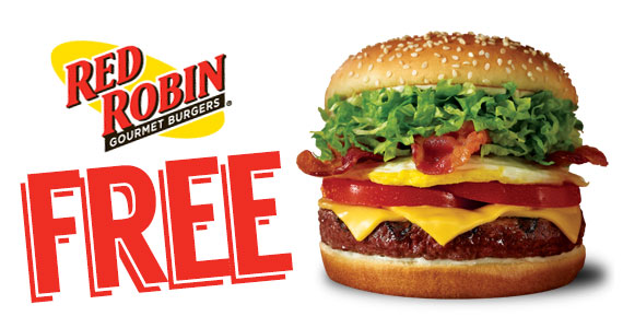 Free Red Robin Burger on Your Birthday