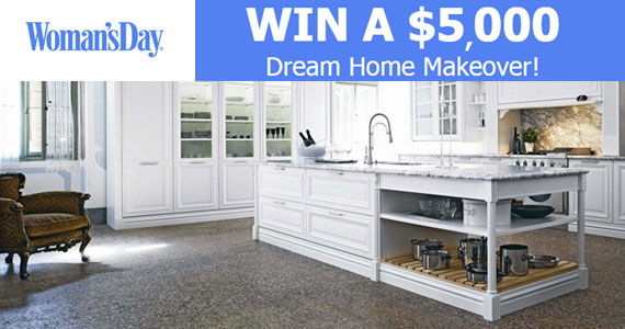 Win A $5,000 Home Makeover For Woman's Day