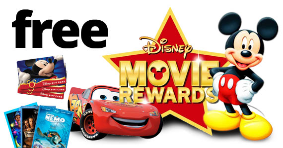 Disney Movie Rewards: 25 Free Points