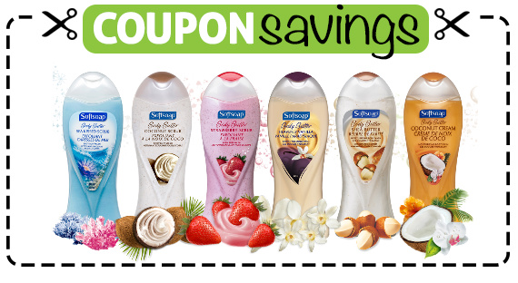 Save 75¢ off Softsoap Body Wash