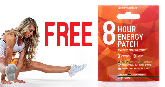 Free 8 Hour Energy Patch