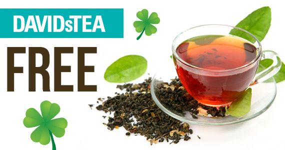 Free Cup Of Tea On St. Patrick's Day