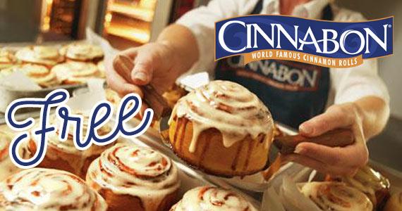 Free Minibon at Cinnabon