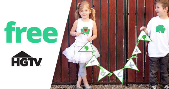 Free Printable St. Patrick's Day Banner