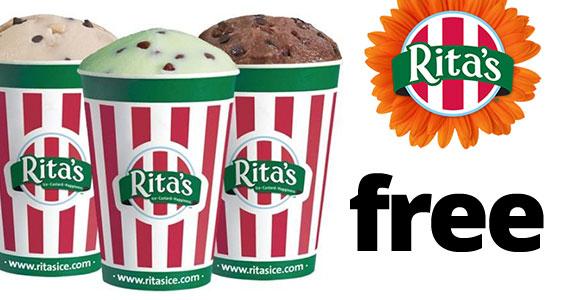 Free Rita's Italian Ice On March 20th