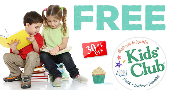 Join Barnes & Noble Kids Club For Freebies