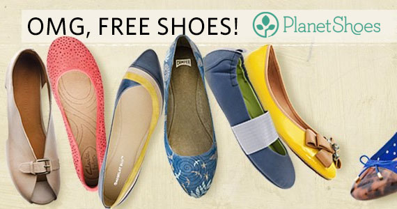Win Free Shoes In The PlanetShoes Weekly Giveaway